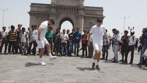 Tim Henman in Mumbai